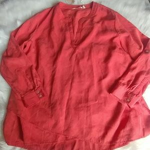 NWT Soft surroundings tencel top
